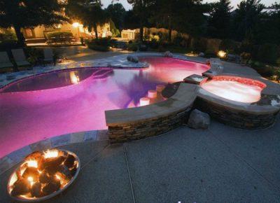 Bóng đèn bể bơi