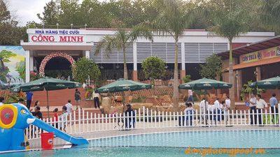 Nhà hàng bể bơi kinh doanh Thành Công Bình phước